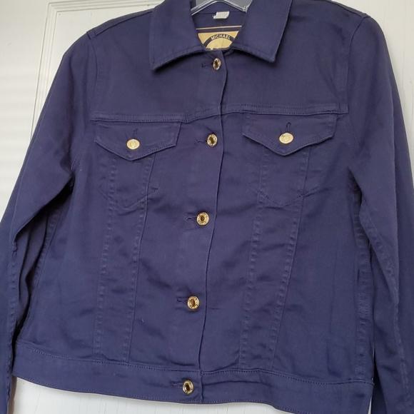 NWT Michael Kors Navy Jacket